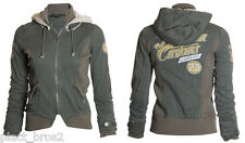 AFFLICTION Womens Hoodie Jacket DYLAN Military Style Biker UFC Sinful XS-M $148