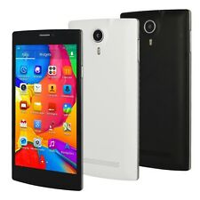 5.5''Android MT6572 Dual Core Dual Sim Unlocked 3G Smart Cellphone GPS AT&T WIFI