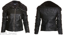 Sinful AFFLICTION Womens Embroidered Jacket Coat DISTORTION Biker UFC XS-M $118