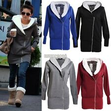 Hot! Lady Women Thicken Warm Winter Coat Hood Parka Overcoat Long Jacket Outwear