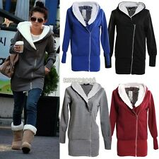 Lady Women Thicken Warm Winter Coat Hood Parka Overcoat Long Jacket Outwear CB