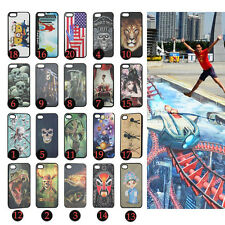 New Fashion 3D illusion Hologram Dynamic picture Plastic Case For iPhone 4 5G 5s