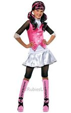 Kids Monster High Draculaura Girls Halloween Fancy Dress Costume Party Outfit