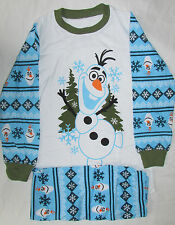 Olaf Frozen Boys & Girls Pajamas Great Item Disney Gift PJ Pyjamas Xmas Present