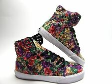 SUPRA SKYTOP FLORAL WHITE WOMEN SHOES