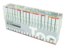 NEW Too Copic Sketch Marker Pen 72 Colors Set (S72A - E) Free Shipping Japan f/s