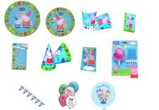 PEPPA PIG Party Packs for 8 Children Plenty of Choice, Matching Items in My Shop