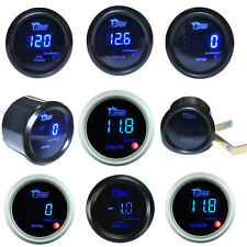 "2"" 52mm DIGITAL LED BOOST/WATER TEMP/OIL TEMP/OIL PRESSURE/TACHO Meter GAUGE AU"