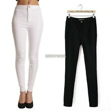 Women's Casual Stretch Skinny Leggings Pencil Pants JeansTrousers S M L XL  EP98