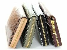 Women's New  Animal Print Faux Leather Wallet Zip Around Case Purse Handbag Bag