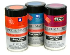 Testors Automotive Base/Clear Lacquer System 3oz.Spray - Choose from 50 colors!
