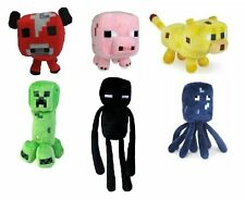 """Official Minecraft Overworld Plush 7"""" Figures   FREE SHIPPING!"""