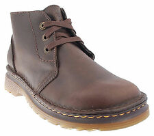 DR.MARTENS /REED BROWN OLD HARNESS BOOTS-UK MENS SIZES 6-12