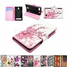 Cell Phone Flip Leather Wallet Case Cover For Sony Xperia E1 D2004 D2005 experia