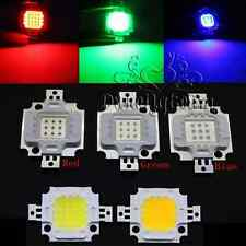 10W 3000K/6000K Cool/Warm White Red Green Blue RGB SMD Led Chip Flood Light Bead