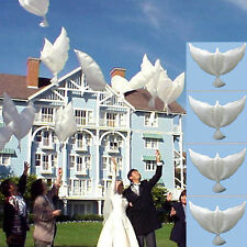 NEW Balloons White Cute Doves for Wedding Party Memorial Birthday Decoration