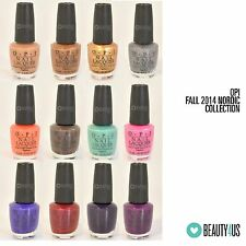 2014 FALL OPI Nordic Collection - Various Colors YOU PICK!