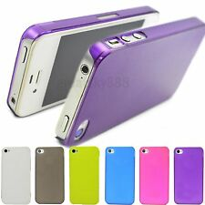 Matte Hard Shell Cell Phone Skin Protector Cover Case For Apple IPhone 4 4G 4S