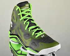 Under Armour Micro G Anatomix Spawn 2 II UA men basketball shoes NEW green