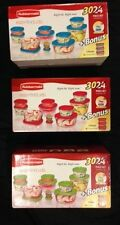 BPA FREE 30 PIECE BRAND NEW RUBBERMAID TUPPERWARE SET RED - BLUE - OR GREEN