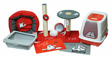 Simon's Cat Kitten Feline Supplies Kit Set Bed Bowl Placemat Scratcher Litter