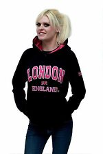 London England Hoodie Black Pink Sweatshirt - S, M, L, XL Official High Quality