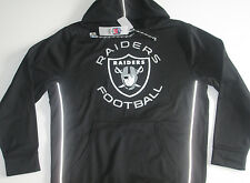 NFL Oakland Raiders Black Wildcard All Time Pullover Hoodie Jacket jersey