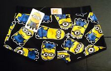 Despicable me The Minions Licensed Primark Mens Boxer Pants Trunks Various Sizes