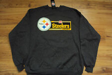 PITTSBURGH STEELERS NEW NFL CRITICAL VICTORY CREW NECK SWEATSHIRT