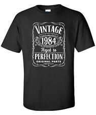 30th Birthday Gift  - Vintage 1984 Aged To Perfection T-shirt cool S-20