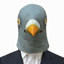 Pigeon Mask Creepy Halloween Animal Costume Theater Prop Novelty Latex Rubber