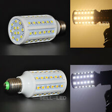 E27 5050 SMD 60LEDs 12W Light Corn Bulb Lamp LED Warm White /Cool White AC 220V