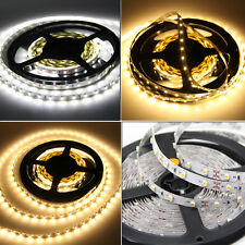1-10M/15M Bande kit 3528 SMD 300 LED Strip Ruban 12V + Adaptateur Alimentation