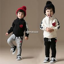 Clothes Age Sizes Set Coats Jackets And Pants Children Boys Girls Clothing HD23L