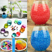 Colorful Water Plant Flower Jelly Crystal Soil Mud Hydro Gel Pearls Beads Balls