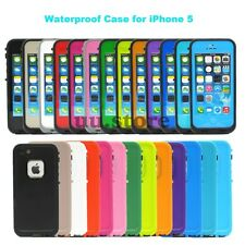Waterproof Shockproof Dirt Snow Proof Durable Case Cover For iPhone 4 4S 5 5S 5C