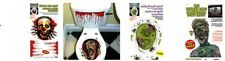 HALLOWEEN NIGHT PARTY HORROR TOILET SEAT STICKERS OR SCARY CAR WINDOW GRABBERS