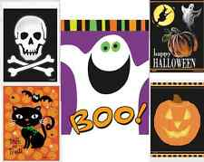 50 HALLOWEEN TRICK OR TREAT KIDS PLASTIC PARTY SWEET LOOT BAGS CHOOSE STYLE 6x4""