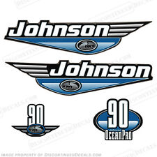 Johnson 1999-2000 OceanPro 90hp Outboard Decal Kit - You Choose Color! Decals