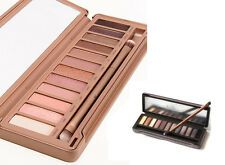 12 colors make up neutral eyeshadow urban palette nude noble eye shadow naked