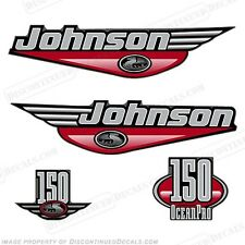 Johnson 1999-2000 OceanPro 150hp Outboard Decal Kit - You Choose Color! Decals