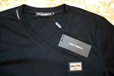 Dolce&Gabanna Brand New T-shirt NWT Black D&G Shirt Gym Collection