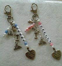 Dog loss~bag charm~personalised~memorial~keepsake~pet loss~i love my dog