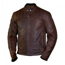 Men's Roland Sands Design Enzo Leather Jacket - Mahogany - FAST & FREE SHIPPING!