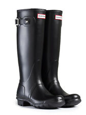 HUNTER ORIGINAL TALL  BLACK RAIN BOOTS WOMEN W23499
