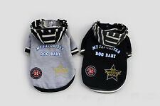 Hot Puppy Small Dog Cat Pet Winter Warm Coat Sports Sweater Lace Hoodies Clothes