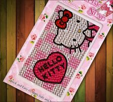 Adorable Hello Kitty / Cartoon DIY Rhinestone Bling Sticker for Phone Tablet USA