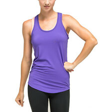 ZOANO Sports Women's 2 in 1 Style Athletic Yoga Fitness Workout Tank Top