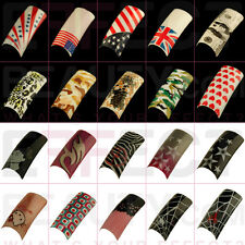 50 Fun Acrylic Pre-Designed Nail Tips 28 Designs to Choose From Seller