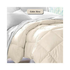 Down Alternative Luxurious Reversible Comforter Full Queen and King
